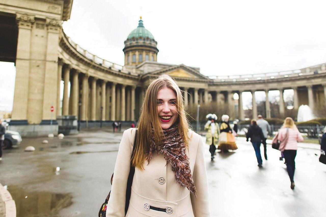 Девочка в петербурге картинки